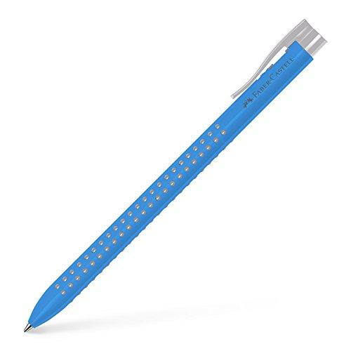 Faber-Castell 544647 Kugelschreiber Grip 2022, 1 Stück hellblau