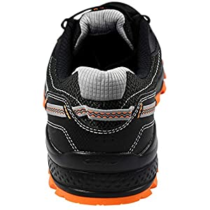 Saucony Men's Excursion TR11 Black/Grey/Orange Running Shoe 12 M US