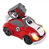 Chicco Johnny Coupé Racing - Coche radiocontrol infantil con mando de 4 direcciones teledirigido y...