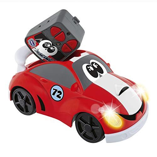 Chicco - Johnny Coupé Racing - Radiografisch bestuurbaar auto - Vanaf 2 jaar - Koplampen Die Oplichten