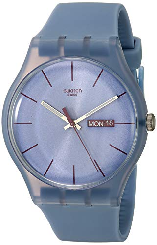 Swatch SUOS701 – Reloj analógico de mujer de cuarzo con correa de