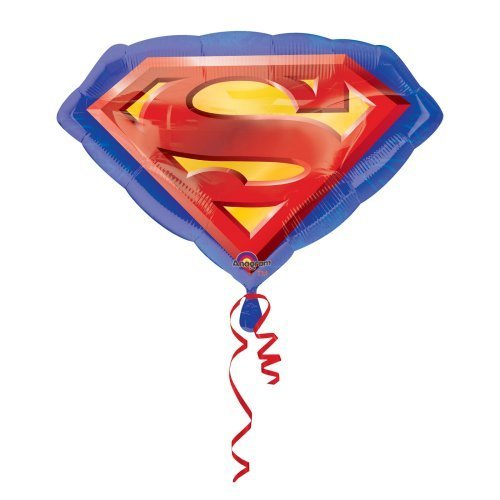 Palloncino Supershape Stemma Superman *12898