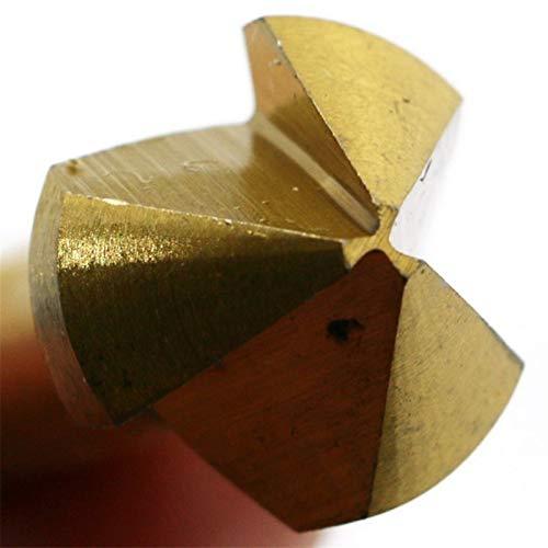 Zhouchenpq Brocas CUCHILLO DE AZUFRECINADOR DE TRES-HOODE CUCHILLO DE CHAMA DE 90 GRADO APARTAMENTO APERADORIO PRODUCTE DE CABEZA DE CABEZA DE ALTA VELOCIDAD Metales de acero de alta velocidad Conjunt