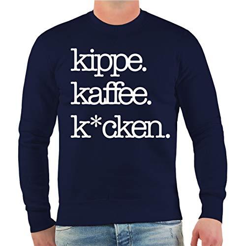 Spaß kostet Männer und Herren Pullover Kippe Kaffee Kacken Größe S - 10XL