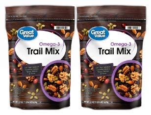 Great Value Omega3 Trail Mix 22 Oz  Pack of 2