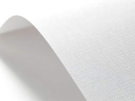Netuno 50 x Weiß 246g Struktur-Papier Raster-Prägung DIN A3 297×420 mm, Elfenbeinkarton Ultraweiß, Bastel-Karton geprägt, ideal für Visitenkarten, Einladungs-Karten, Zertifikate, Urkunden