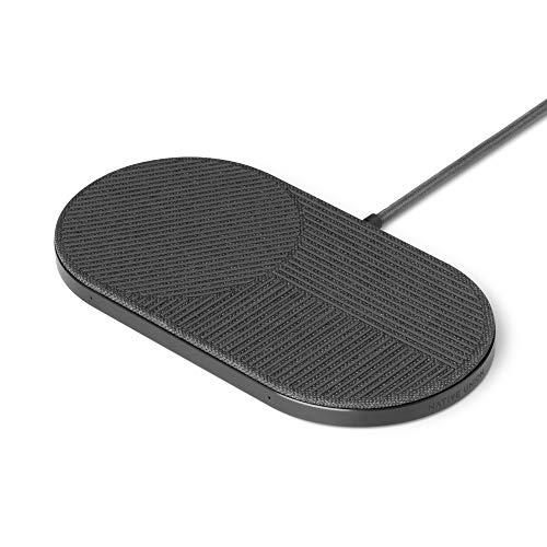 Native Union Drop XL Caricabatteria Wireless –Piattaforma di Ricarica per iPhone e dispositivi Qi (Compatibile - US,EU,UK)