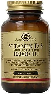 Solgar Vitamin D3 Cholecalciferol 10,000 Iu Softgels, 120 Count