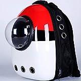 Jstoo Transporte De Ventana Bolsa De Viaje Transpirable Burbuja Astronauta Mascota Perro Espacio Cápsula Gato Portador Mochila-Pokemon_Metro