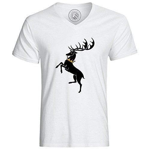 T-Shirt Game of Thrones Bratheon Stag Gold Crown