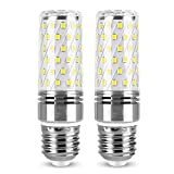 Bombilla LED de maíz de 12 W (reemplazo de haluro metálico de 120 W) Superbrillante 1320LM E27 Adaptador de base de tornillo Edison Iluminación para candelabros, luces de pared, lámpara de mesa, paque