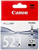 Canon CLI-521 BK Cartucho de tinta original Negro para Impresora de Inyeccion de tinta Pix...