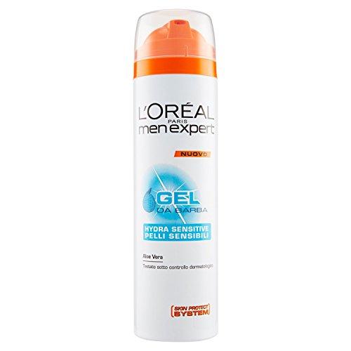 L'Oréal Paris Men Expert Hydra Sensitive - Gel da barba pelli sensibili - 200 ml