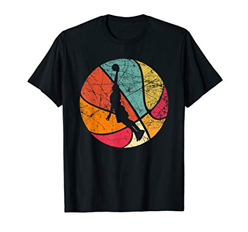 Vintage Retro Basketball Tshirt 70s T-Shirt