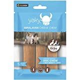 Yaky Cheese Chews | Long Lasting, Stain Free, Protein Rich, Low Odor | 100% Natural, Healthy & Safe | No Lactose, Gluten Or Grains | SMALL | for Dogs 15 Lbs & Smaller Blue Bag