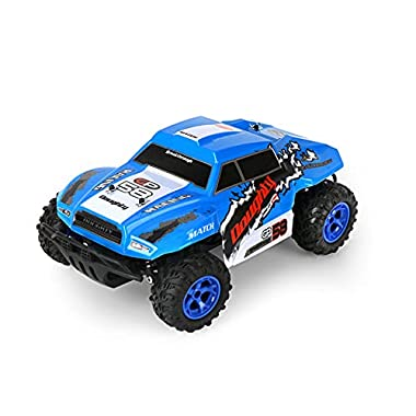 DEORBOB Four-Way 2.4G Remote Control Car High Speed Radio-Controlled Car Racing Toy Children's Electric Simulation RC…