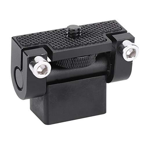 Supporto per Hot Shoe Robusta Staffa a Testa sferica in Metallo portante Regolabile a 180 ° Robusta, per Fotocamera DSLR, per Monitor
