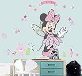 Kibi XXL Adesivi Muro Minnie Disney Adesivi Muro Mickey Mouse Adesivo Da Parete Minnie Camera Da Letto Bambini Stickers Muro Bambini Mickey Mouse Adesivi Muro Topolino Disney