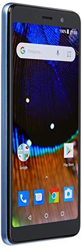 Smartphone Multilaser Ms50X 4G Quadcore 1Gb Ram Tela 5,5 Dual Chip Android 8.1 Azul/Preto - NB733