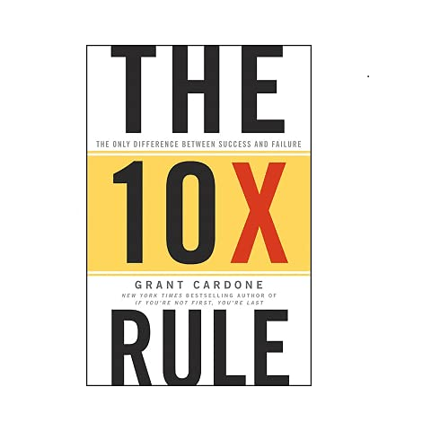 Real Estate Investing Books! - The 10X Rule: The Only Difference Between Success and Failure