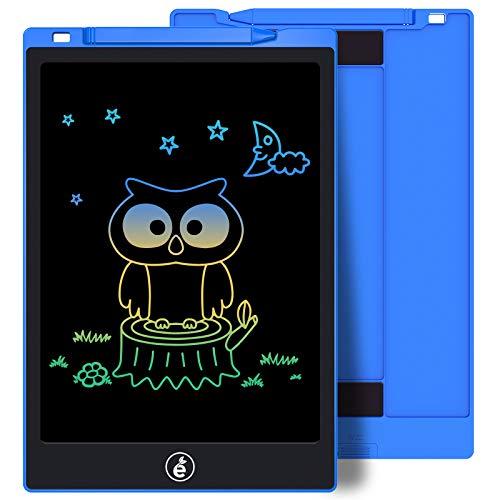 Sunany 11 Pulgadas Color Tableta de Escritura LCD, Tableta Escritura con Teclas Borrables, Regalos para Niños, Portátil LCD Writing Tablet para Niños, Escuela, Oficina(Azul)