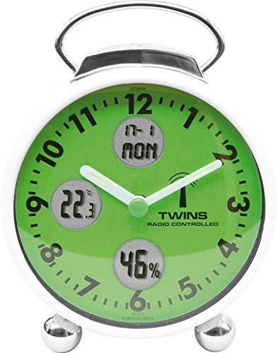 Krippl-Watches Funkwecker mit Datum/Temperatur/Luftfeuchtigkeit