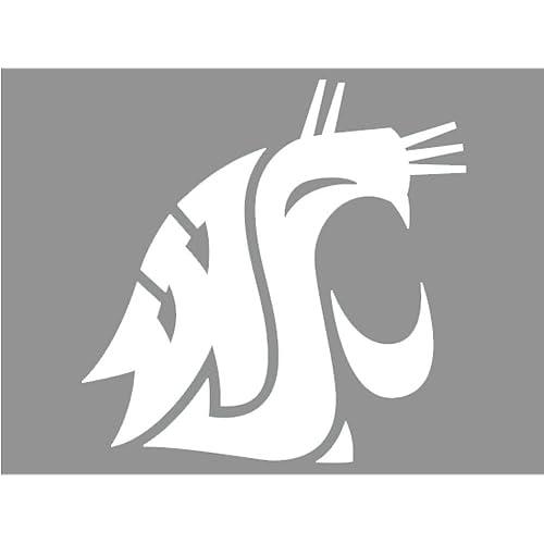 4 Decals Washington State Cougars Logo Decal Sheet