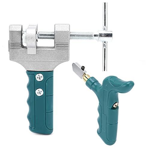 Eosnow Kit de Cortador de Vidrio, Herramienta cortadora de Vidrio Que Ahorra Mano de Obra facilita el Corte de Azulejos de Chapa para Azulejos comunes para Azulejos de Pared