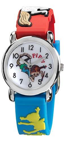Pippi Langstrumpf Mädchen Kinderarmbanduhr Pippis Zeitvertreib