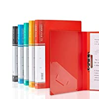 5パッククリップボード - A4 / Foldover Flap、Portfolio Organizer A4クリップボード (Color : 5 colors)