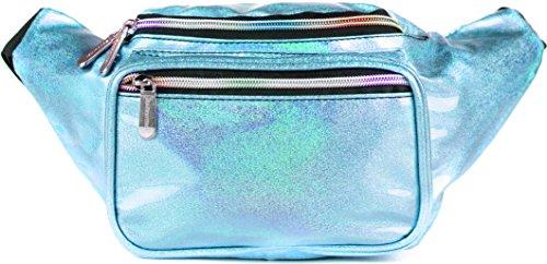 SoJourner Bags riñonera uno tamaño Glitter Azul