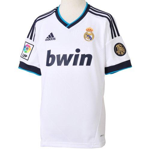 Adidas Real Madrid C.F. - Camiseta de fútbol infantil, 2012-13, 8 años,...