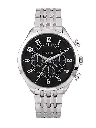 Reloj Breil colección ARBITER Movimiento de Cuarzo Chrono y Brazalete de Acero para Hombre ES One Size