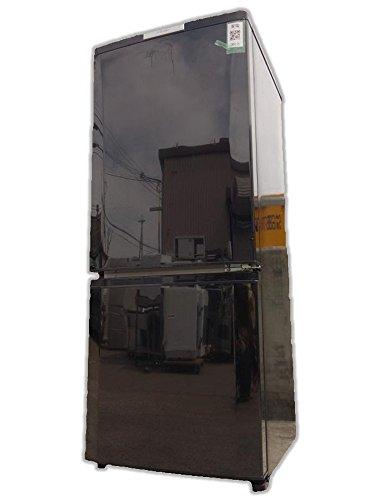三菱 146L 2ドア冷蔵庫(サファイアブラック)MITSUBISHI MR-P15X-B