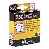 Panodia Boîte de 250 pastilles adhésives Double-Face - Marque française