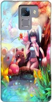 Mobilinnov Coque Huawei Honor 7 Rigide Motif Charmeuse Manga de Protection et Personnalisation