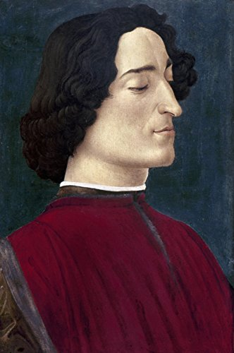 Giuliano De Medici N(1453-78) Florentine Statesman Painting On Wood C1478 By Sandro Botticelli Poster Print by (18 x 24)