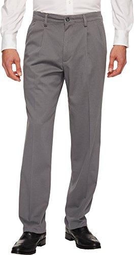 Dockers Easy Khaki D3 Classic Fit Pleated Pants Burma Grey 31