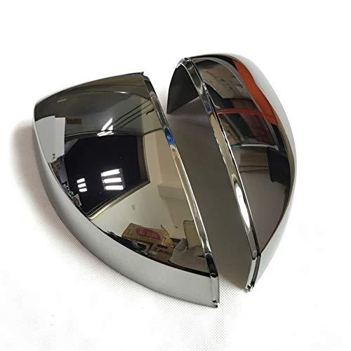 No Logo autospiegel-vervangingscovers hoezen shell voertuig L & RSide vleugel-spiegel-kast voor Audi A3 2014-2019 Piano zwart chroom spiegel-afdekking shell achteruitkijkspiegel Cap S-lijn