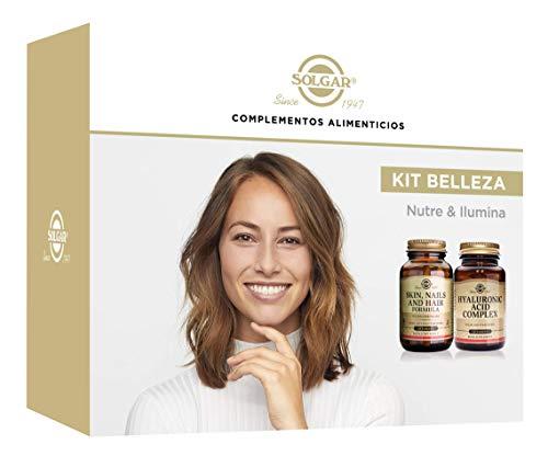 Solgar Pack belleza hair-skin-nail+ac. Hialuronic complex 1 Unidad 250 g