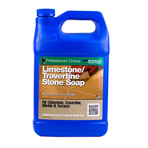 Miracle Sealants LTSS4GAL Limestone & Travertine Stone Soap Cleaners, Gallon