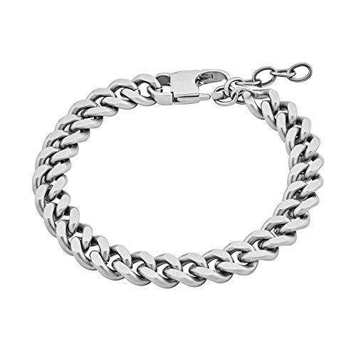 s.Oliver Armkette für Herren aus robustem Edelstahl