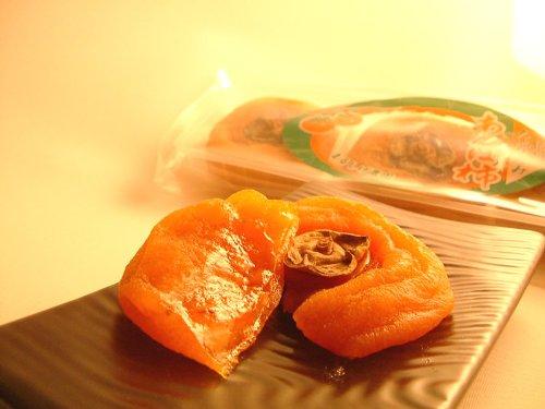 【訳あり】 和歌山 あんぽ柿 超大粒 1個 80g以上×8袋 640g 産地直送 干し柿 自宅用 家庭用