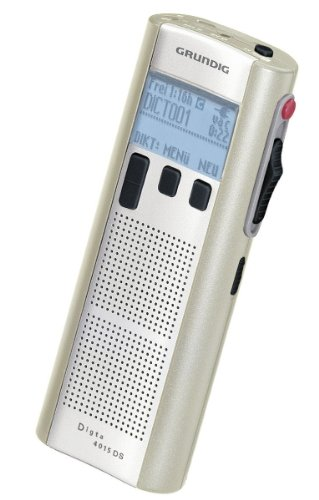 Grundig Digta 4015 Classic - Digitaler Sprachrecorder - Flash 64 MB, PFQ8005