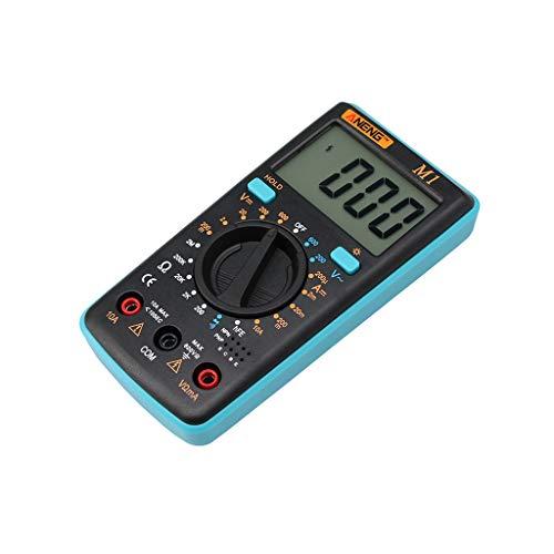 ANENG - Multímetro Digital, 2000 contactos, Detector de tensión de Rango automático, NCV, AC/DC, Detector de Corriente Continua, Resistencia, Capacidad