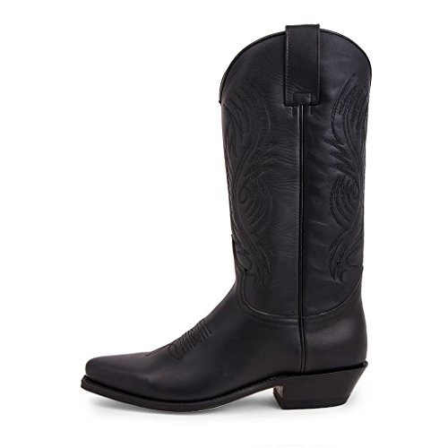 Sendra Boots - 2605 Red Pull Oil Negro-39
