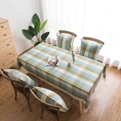 XXDD Decoración de la Cocina Mantel de Mesa de café Rectangular Mantel de cumpleaños decoración de Mesa de Boda Mantel Bordado A1 135x180cm