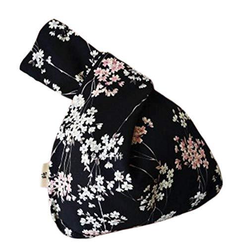 Wukong Paradise Bolso nudo de kimono japonés Totes Wallet Satchels Bolsa de playa Tamaño pequeño-A04