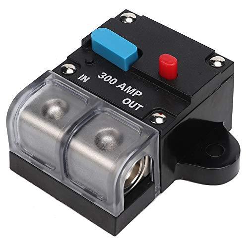 Interruttore automatico 80A-300A Interruttore ripristinabile per auto Pulsante di ripristino manuale del fusibile di auto-recupero per la protezione dell'auto e degli amplificatori(300A)