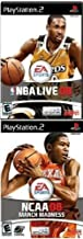 Basketball 2 Pack: NBA Live 08 + NCAA College March Madness 2008